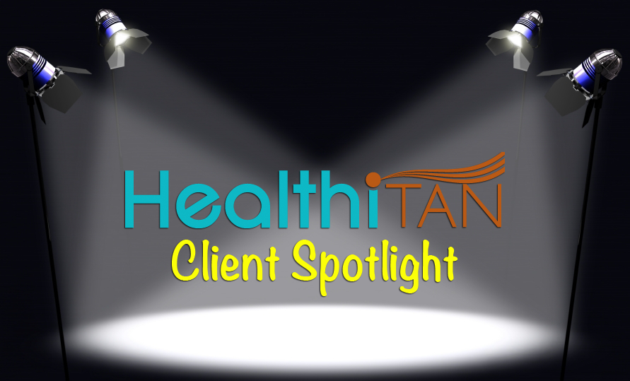 HealthiTan Client Spotlight – Jessica Jones