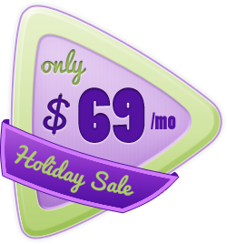 Holiday Sale - $69/mo