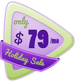 Holiday Sale - $79/mo