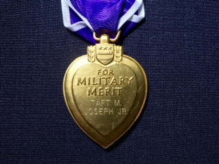 back purple heart