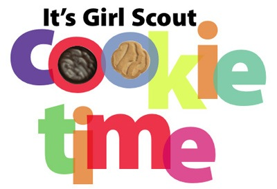 Valentine Day Specials – It's Girl Scout Cookie Time!