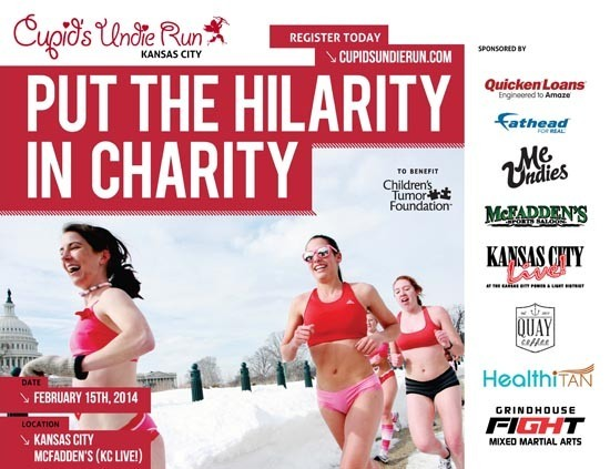 HealthiTan & Cupid's Undie Run. Sign up Now!